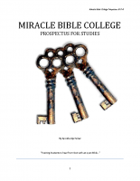 Miracle Bible College-Prospectus 2017-to-2018