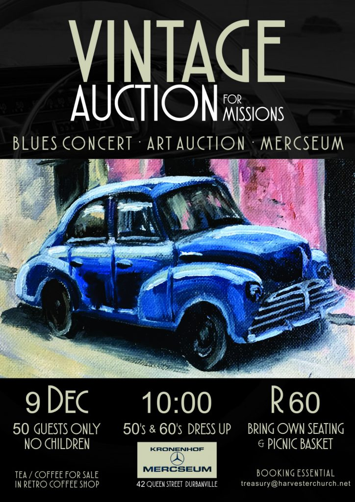 Vintage Auction for Missions - Harvester Church